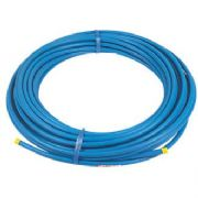 Blue PE80 MDPE Barrier Service Pipe